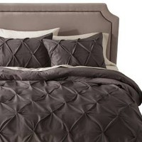 Pinch Pleat Duvet Cover Set - Threshold™