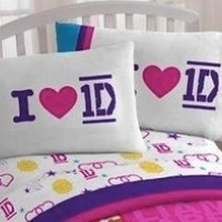 One Direction Twin Cotton Rich Sheet Set