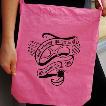 You're Just As Sane As I Am Luna Lovegood Bag. Crossbody Bag.