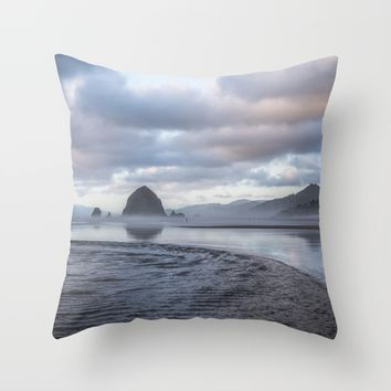 Whisper Throw Pillow by Gallery One