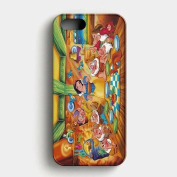 Snow Ariel And Alice Punk Tattoos Disney Princess iPhone SE Case