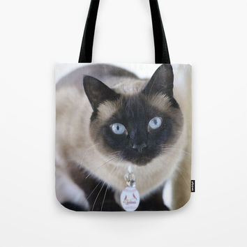 Innocent Expression Tote Bag by Theresa Campbell D'August Art