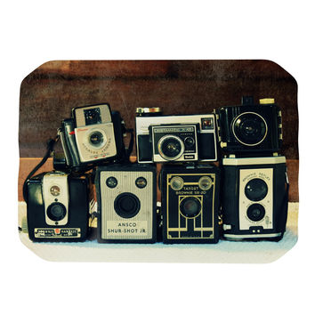 "Robin Dickinson ""Through the Years"" Vintage Camera Place Mat"