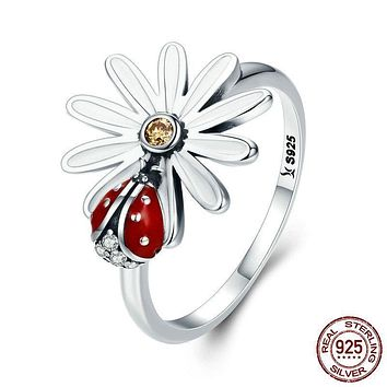 Women Spring Daisy Ring 443
