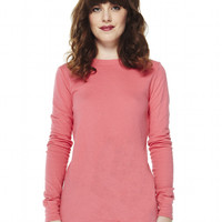 Eva Long Sleeve Reversible Crew