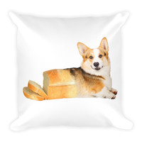 Corgi Loaf Bread Pillow