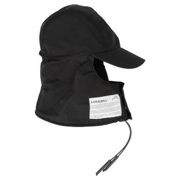Black Cap and Neck Storm Hat by A-COLD-WALL*