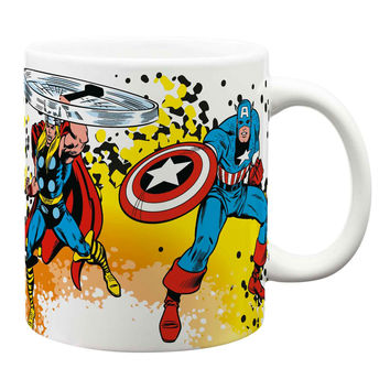 Marvel Avengers Extra Large Comics 24 oz. Ceramic Coffee Mug