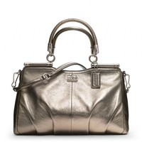 Coach :: Madison Metallic Leather Carrie