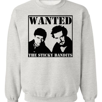 'The Sticky Bandits' Home Alone Sweatshirt