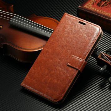 $IDOOLS Wallet PU Leather Case for Microsoft Lumia 640xl with Stand and Card Holder Phone Bag Flip Cover for nokia lumia 640 xl