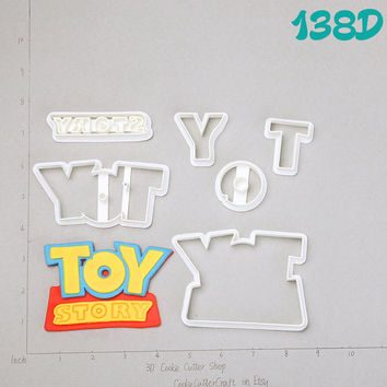 Toy Story Cookie / Fondant Cutter big sister big brother little sister little brotheryear old baby gift baby girl baby boy headband138D