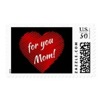 Mother's day special- my heart is for you Mom Postage