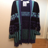 Grunge Over sized Tribal Sweater