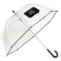 kate spade new york 'rain check' umbrella - Black