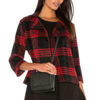 BB Dakota Jack By BB Dakota Henny Jacket in Salsa Red | REVOLVE