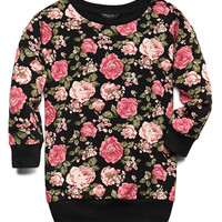 Favorite Floral Sweatshirt (Kids)