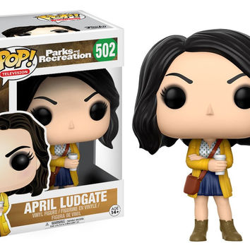 POP! TELEVISION 502: PARKS & RECREATION - APRIL LUDGATE