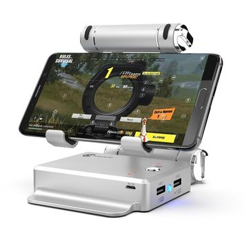 Docking Stand Converter Station for FPS Games Mobile Phone to PC