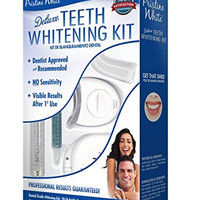 Pristine White Premium Home Teeth Whitening Kit with LED Light