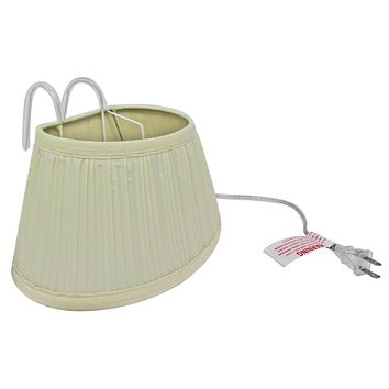 Evelots Headboard Light, Over The Bed Light W/ Shade, Headboard Lamp