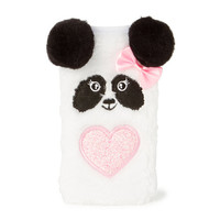 Plush Panda Cell Phone Sock