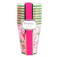 To-Go Tumbler Set in Pink Colony by Lilly Pulitzer