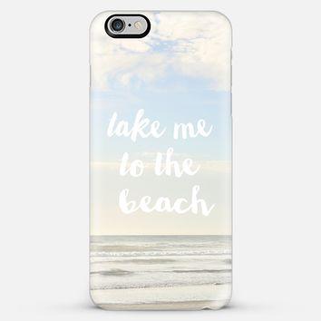 take me to the beach iPhone 6 Plus case by Sylvia Cook | Casetify