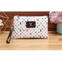 LV Hot Selling Printed Shopping Bags for Women LV color pattern white