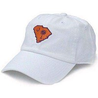 SC Clemson Gameday Hat in White by State Traditions