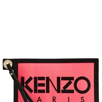 Women's KENZO Canvas Pouch - Pink