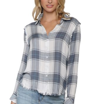 Sunday Stevens Hamptons Plaid Button Down