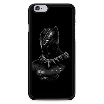 Black Panther Wallpaper With Blue Eyes iPhone 6 / 6S Case