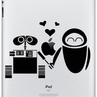 Apple Ipad Vinyl Decal Sticker - Wall-E