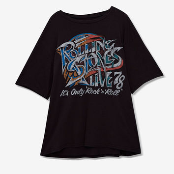 Rolling Stones T-shirt - T-shirts - Clothing - Woman - PULL&BEAR United Kingdom