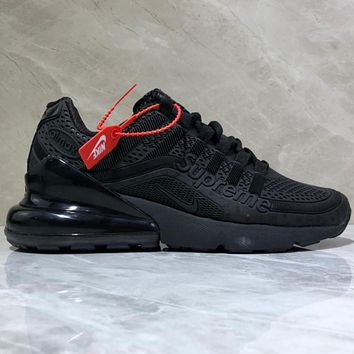 NIKE AIR MAX 270 Supreme Drop Plastic Fashion Leisure Sports Shoes