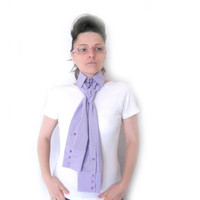 40% OFF Collar scarf, shirt look, vivid accessory, unusual design collar with sleeves