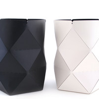 Origami Leather Containers