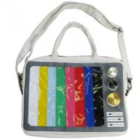 Hollywood Mirror | TV STRIPE LAPTOP BAG - BAGS - ACCESSORIES