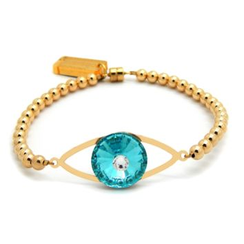 Magical Eye Bracelet: 14K Gold-filled