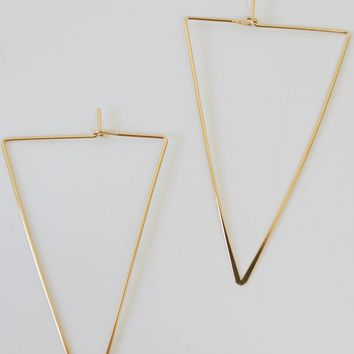Start Over Earrings - Gold