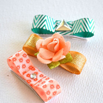 Baby Hair Clips - Baby hair bows