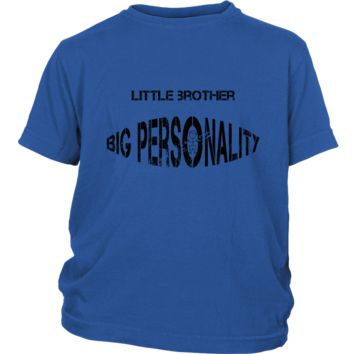 Little Brother Big Personality Youth Tee