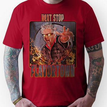 Guy Fieri - Next Stop Flavortown Unisex T-Shirt