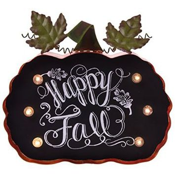 Happy Fall Light-Up Marquee Sign