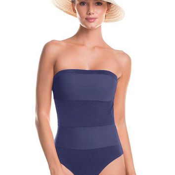 TOUCHE Morski Bandeau One Piece