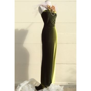 Emeral cocktail dress