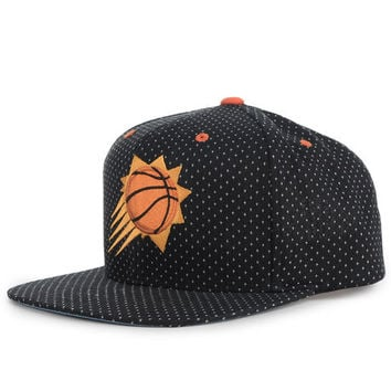 The Phoenix Suns Dotted Snapback in Black