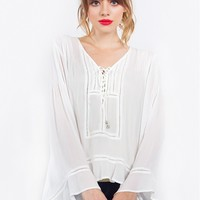 Sugar Lips Free Falling Top