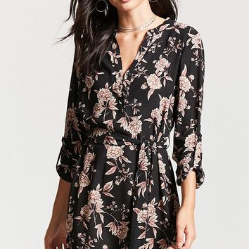 Floral Popover Dress